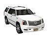 White SUV w/music