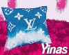 Y. LV pillow e