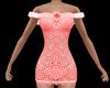 Pink Rose Short Dress