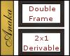 Double Derivable Frames
