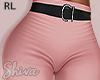 S. Pink Pants & Belt RL