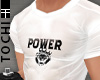 #T Power Jersey #White