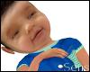 Infant: Jaden in blue/gr