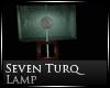 [Nic]Seven Turq Lamp