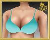 Aqua Bikini Top