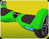 Hoverboard Mini Green