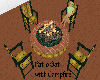 Patio Set with Campfire