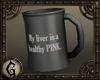 {G} Coffee Mug - Liver