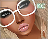!K Vinnie White Glasses