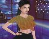 Yasmine -Yellowish plaid