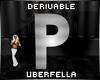 Derivable Letter P