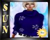 [SUN]Blue Winter Sweater