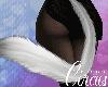 C` Silver Neko Tail