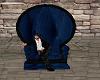 Blue Velvet Throne
