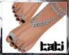 lTl Feet Chain Silver 3