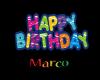 happy birthday marco