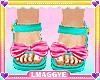Kid/ Rainbow Sandals