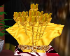 Animated Gold Roses Gift