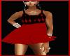 kids red diamond dress