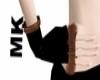 !Brown fur gloves MK
