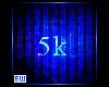 5k cred Support Sticker