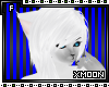 [xM]White Wolf Hair V2