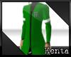 K- Saru Coat: Green