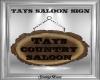 Tays Saloon Sign