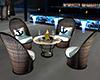 Exotic Beach Tble/Chairs