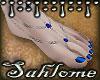 Summer Feet Royal SLV