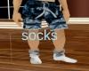 brain cancer awar sock M