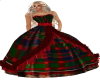 Christmas Red Ballgown