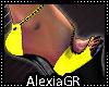 [A] Neon Yellow Heels