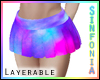 Layer. Galaxy Skirt
