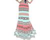 MZ Boho Aztec Skirt  P&T