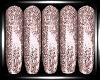 Sparkling Lite Pink Nail