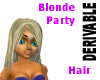 Hair Blonde Party