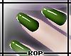 [KOP] Simply Green Nails