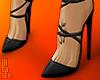 """Black is MAGIC"" heels"