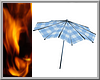 !34F PastelBlue Umbrella