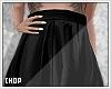 X! Black Skirt