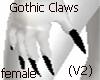 (V2)Gothic Black Claws F