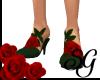 -SG- Rose Heels