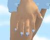 (MT)Blue Topaz Nails V3