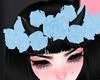 C! Rose Crown/Horns Blue