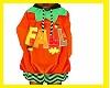 kids Fall Pumpkin Dress