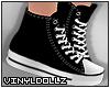 !V! Sneakers Black