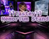 Memorium Stand
