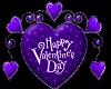 (V) Valentine Heart Purp