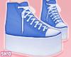 S. Blue AllStar Shoes.